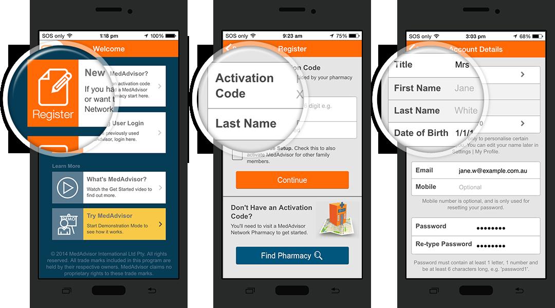 MedAdvisor - Get Started